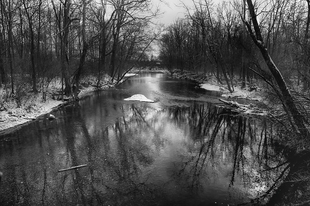 Jan 05 - Winter Creek b+w