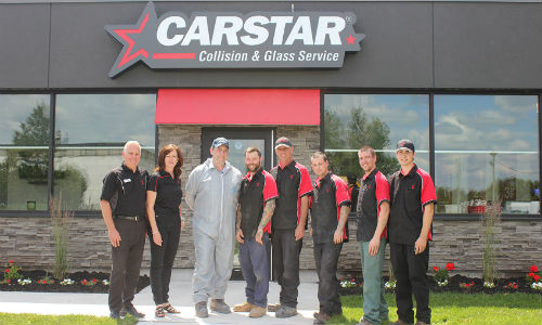 CARSTAR Peterborough Shop Tour 2017