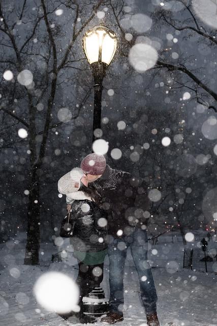 Snowy Central Park, Fujifilm X-T20, XF27mmF2.8