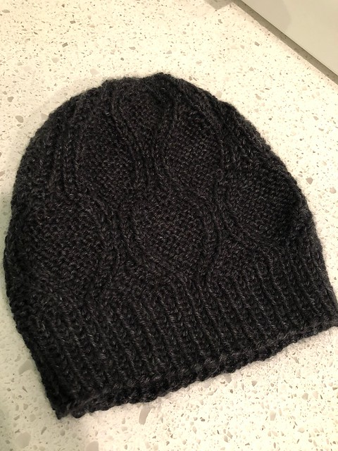 The black Karite hat