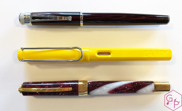 Review @Retro1951 Tornado Black Cherry Fountain Pen 9_RWM