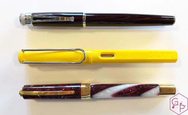 Review @Retro1951 Tornado Black Cherry Fountain Pen 9_RWM