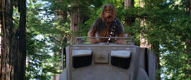 不僅火力十足,可愛魅力更是擋不住~~ FUNKO POP! Deluxe《星際大戰:絕地大反攻》丘巴卡 & AT-ST Chewbacca with AT-ST
