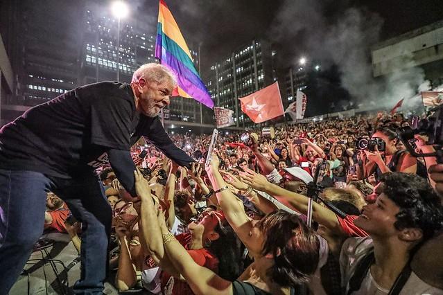 Caravana Lula se encerra com grande ato na concha acústica da UERJ, no Rio