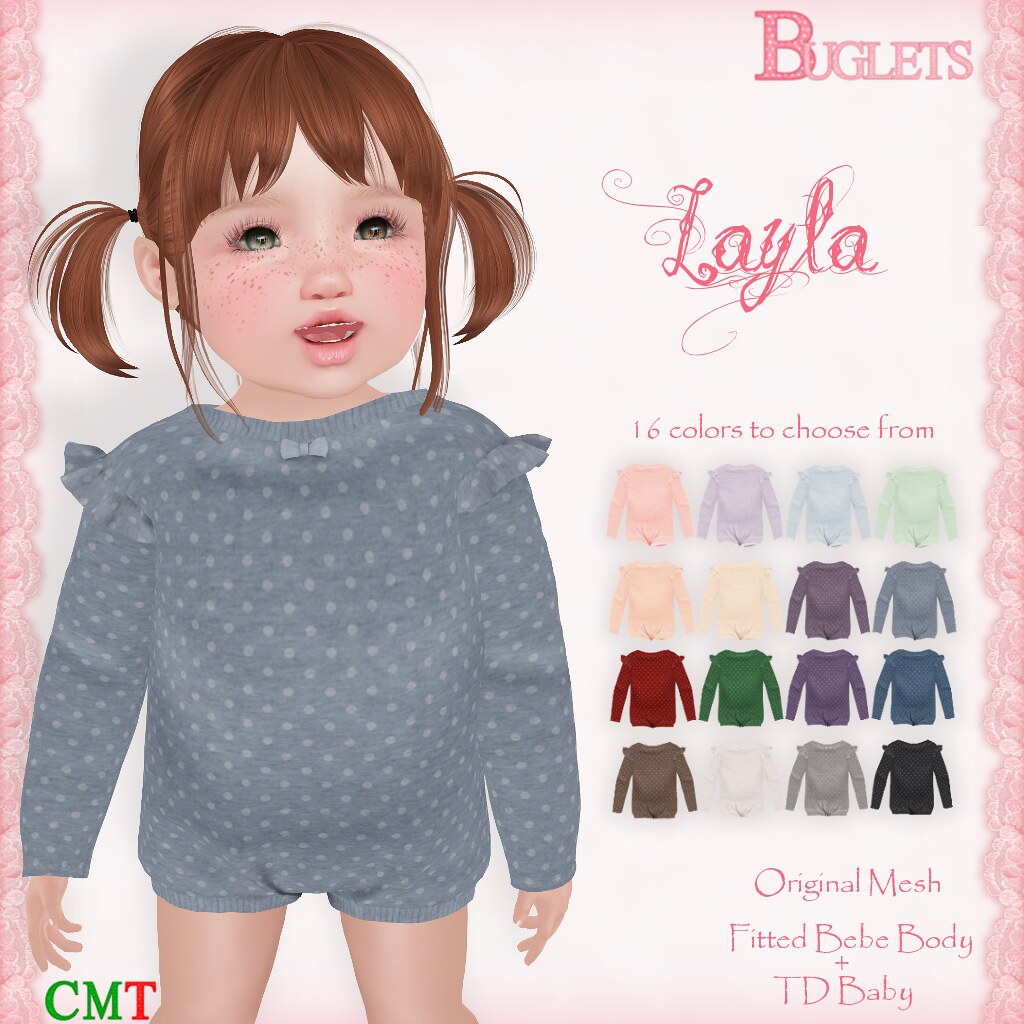 Layla Bodysuit AD - TeleportHub.com Live!