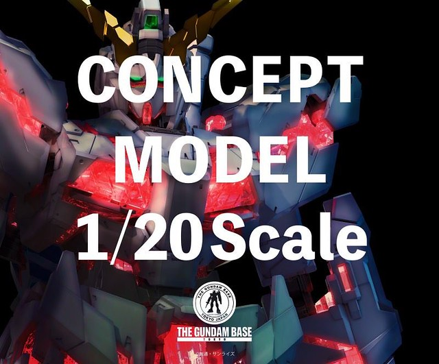 Gundam Unicorn Concept Model 1/20 Scale