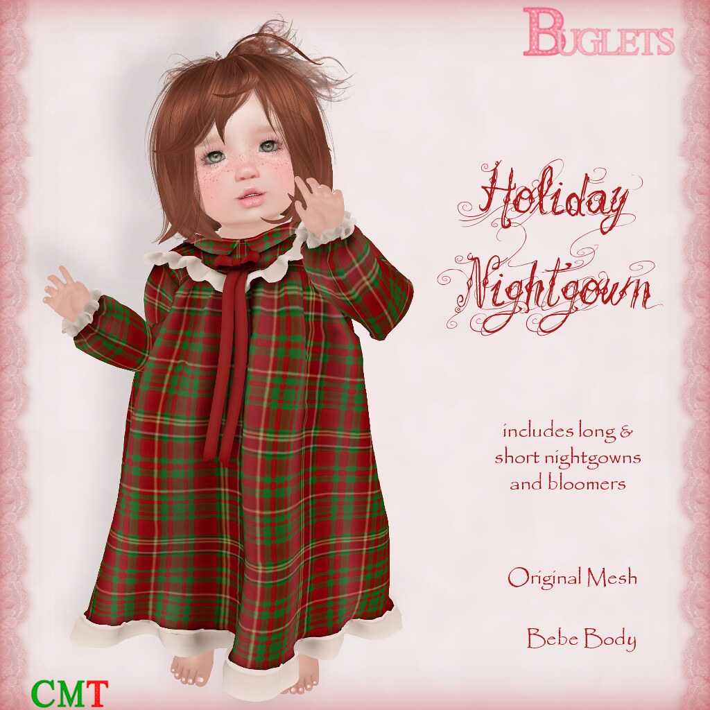 Holiday Nightgown AD