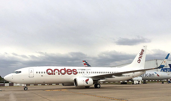 Andes B737-800 (Andes)