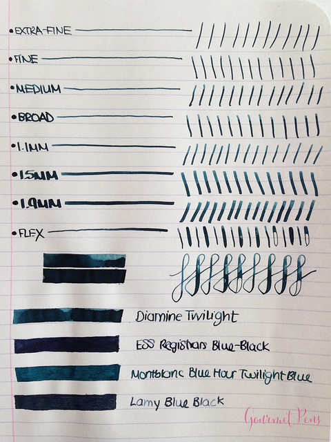 Ink Shot Review Diamine Twilight @BureauDirect 4