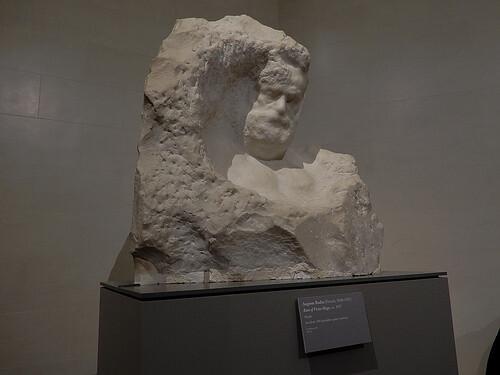 DSCN9977 _ Bust of Victor Hugo, Rodin, ca. 1917 - Klimt & Rodin