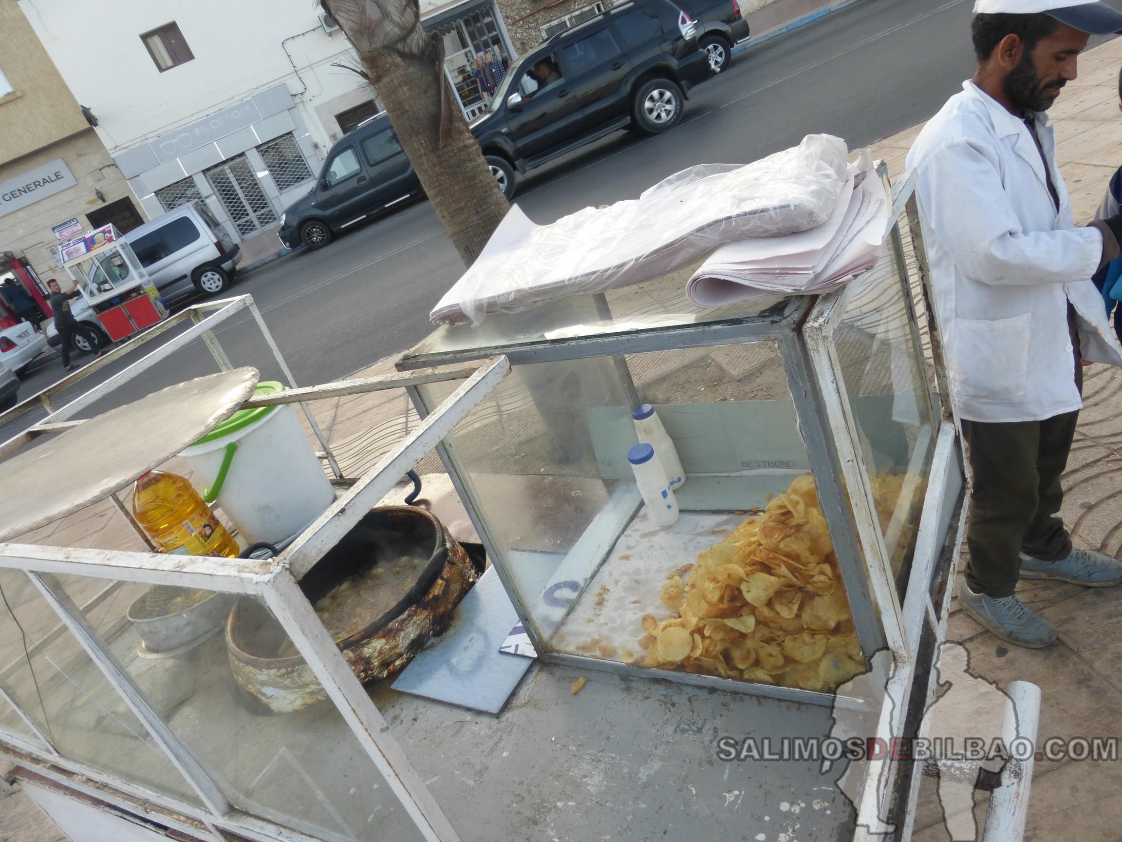0136. Puesto de patatas, Dakhla