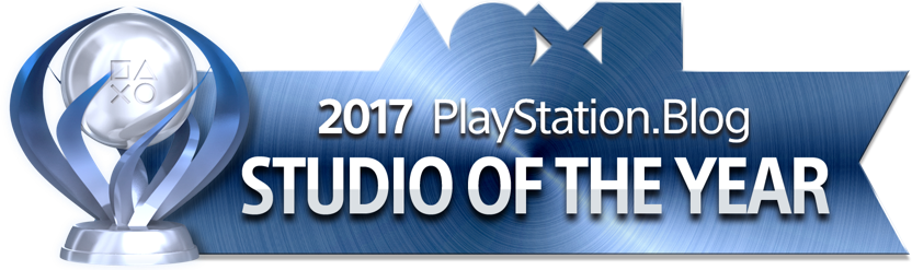 PlayStation Blog Game of the Year 2017 - Studio of the Year (Platinum)