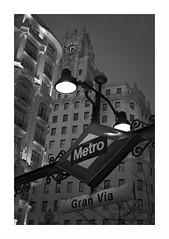 Invierno en Metro Gran Vía