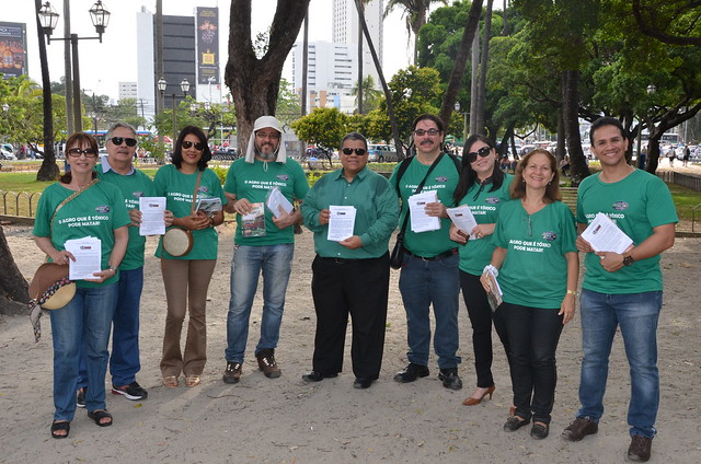 Ação do MPPE celebrou o Dia Mundial da Luta Contra os Agrotóxicos