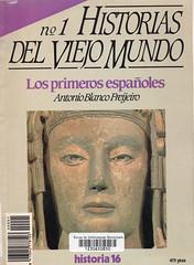 Antonio Blanco Freijeiro, Los primeros españoles