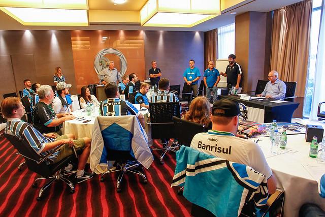 Encontro de Cônsules do Grêmio em Abu Dhabi
