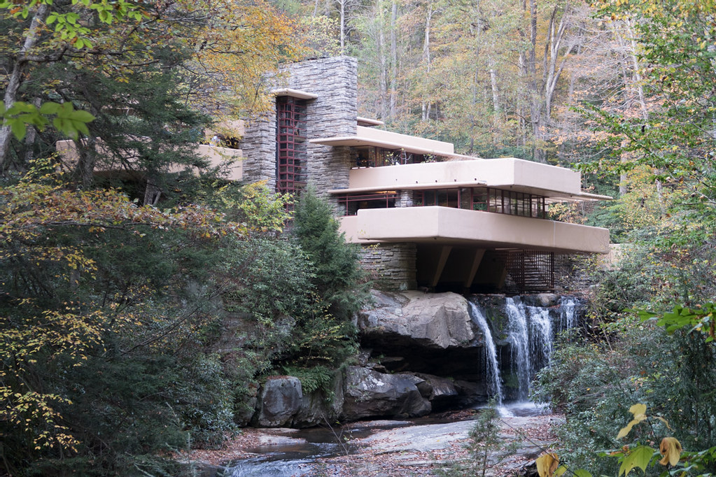 Fallingwater Exterior during tour