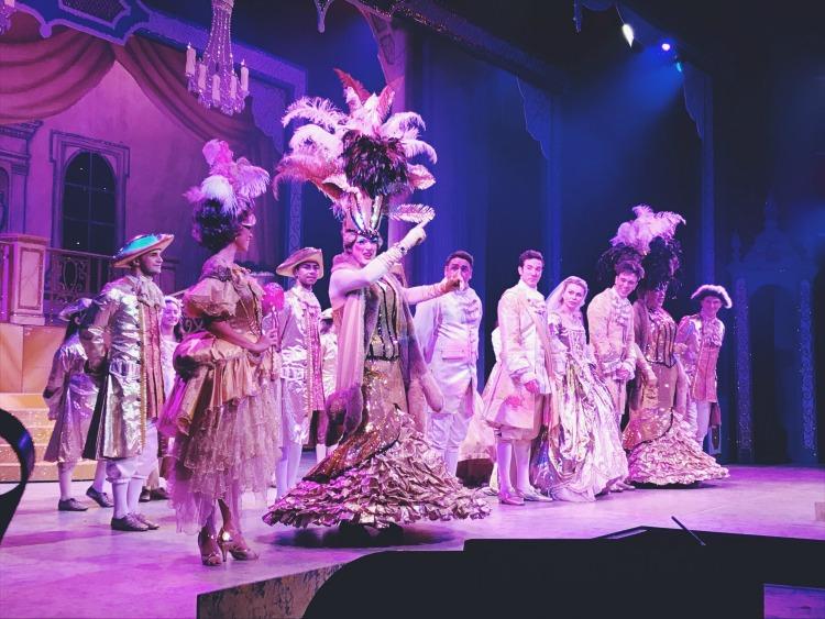 finale cinderella Octagon Theatre