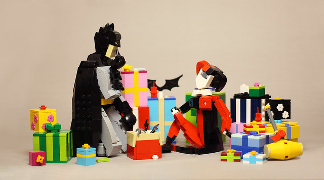 Christmas Eve For Batman and Harley
