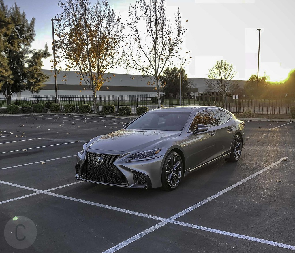 2018 Lexus LS 500 F SPORT is in the CF Garage