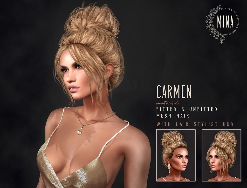 MINA Hair – Carmen for UBER!