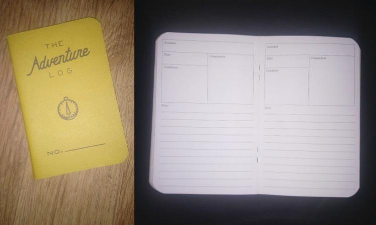 Adventure Log Pocket notebook