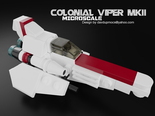 Microscale Colonial Viper MKII