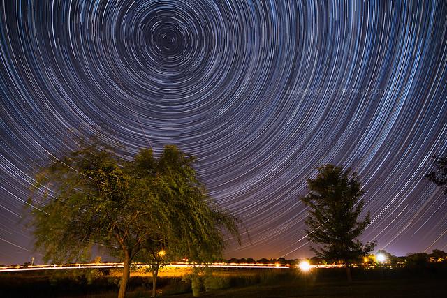 Star Trails Iowa