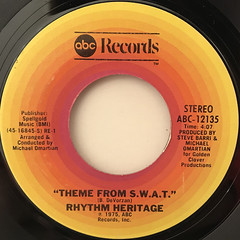 RHYTHM HERITAGE:THEME FROM S.W.A.T.(LABEL SIDE-A)