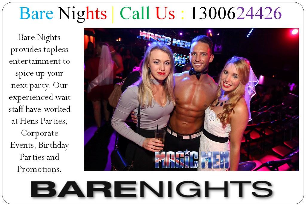 Best Topless Barmen Melbourne, Sydney & Brisbane