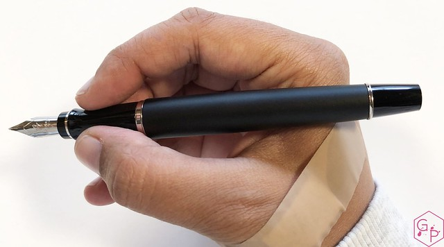 Review Waterman Expert 3 Matte Black Fountain Pen @KnightsWritingC 11