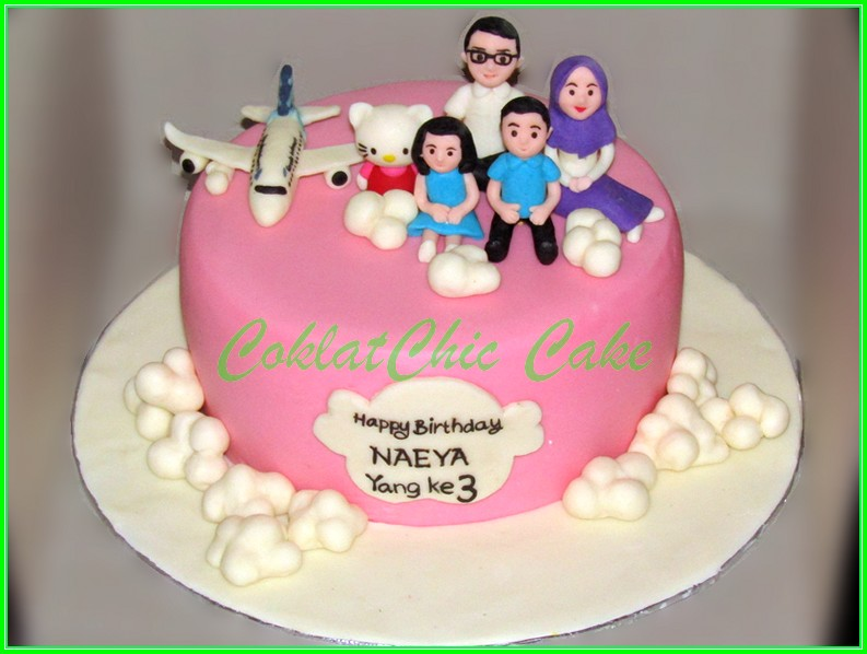 Cake Family NAEYA 15cm