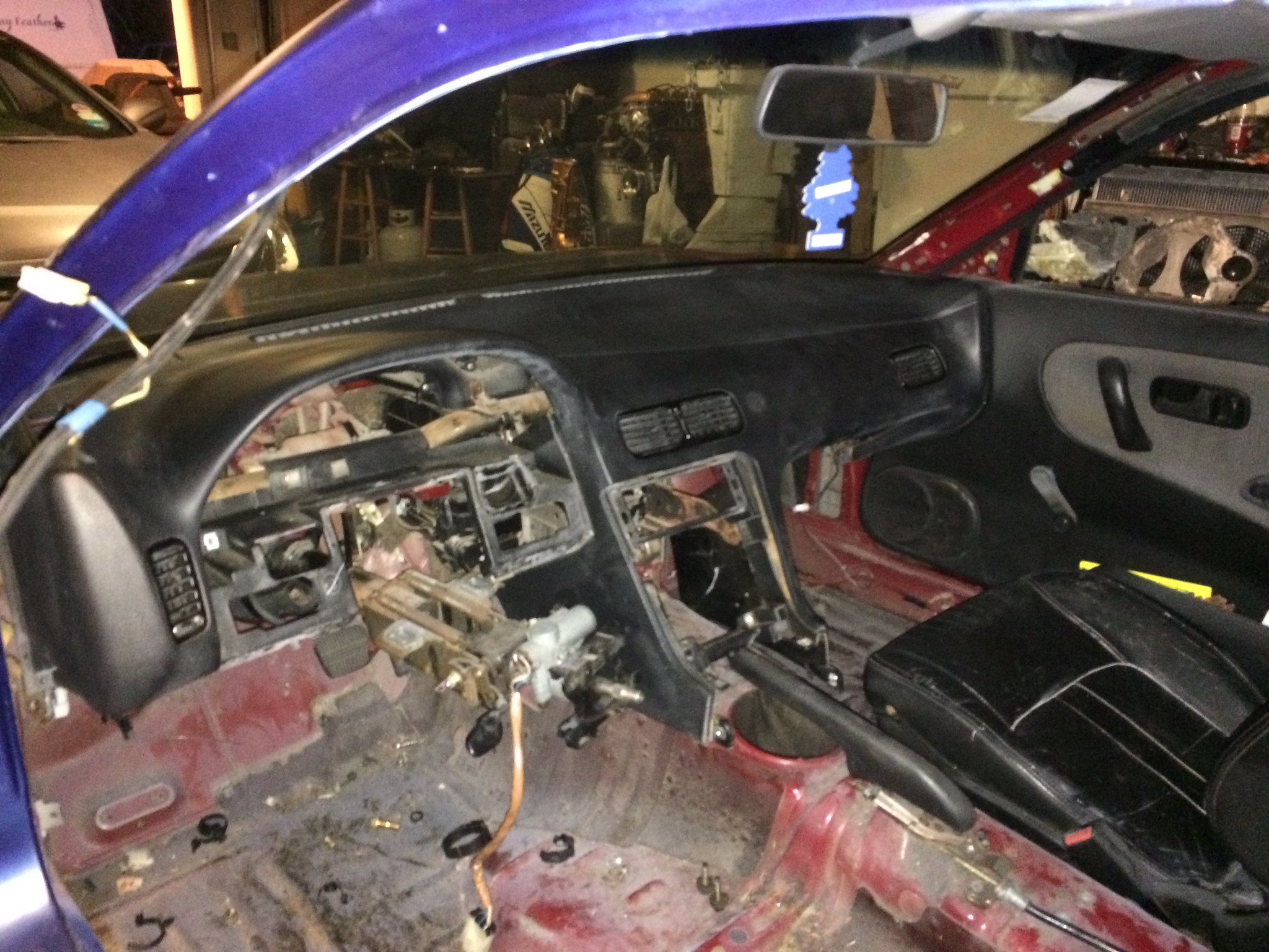 S13 Coupe Restoration Nissan Forum Forums Ka24e Wiring Harness Cluster Image
