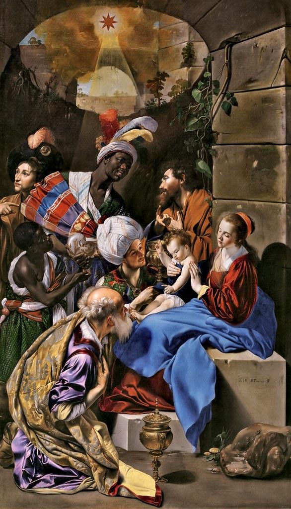 Juan Bautista Maíno - La Adoración de los Reyes Magos