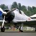 North American T-6J Harvard IV (Zero replica) N15798 (AI-110) North Weald 13-5-89
