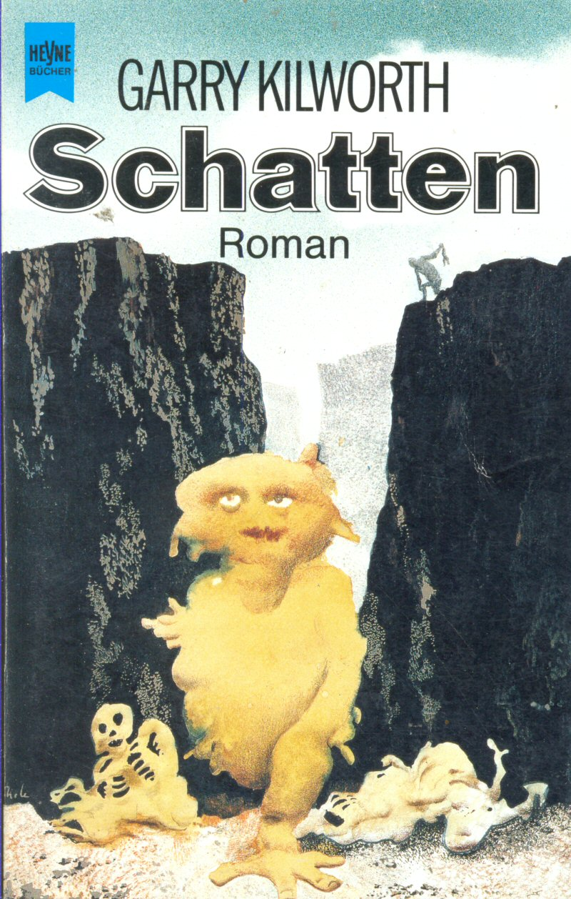 "Karel Thole - Cover for Garry  Kilworth's ""Schatten""  1988"