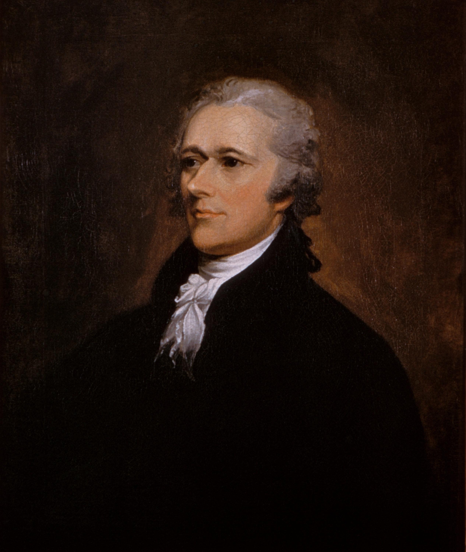 Portrait of Alexander Hamilton by John Trumbull, 1806