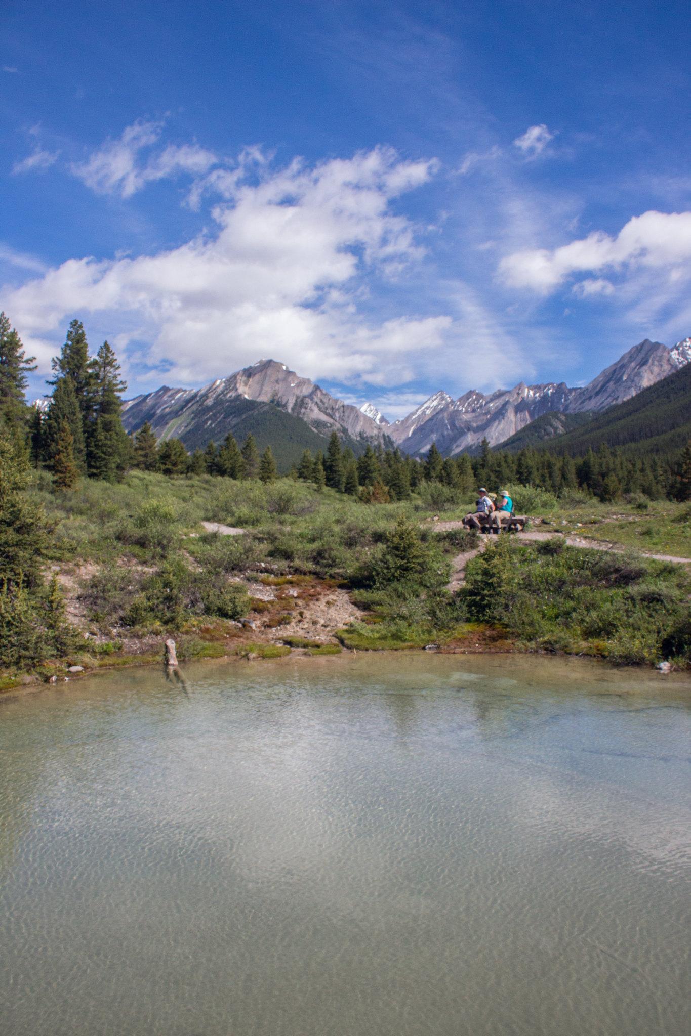 The inkpots, Banff