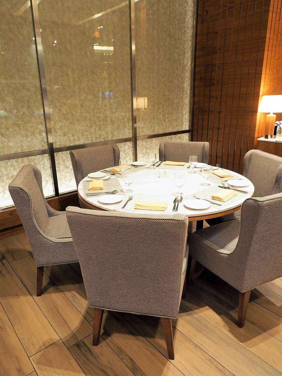 Round Dining Table At Feast Sheraton Petaling Jaya