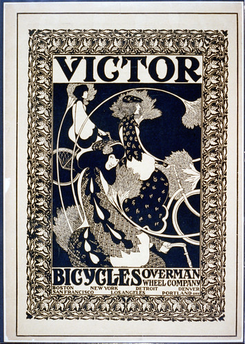 Victor bicycles, Overman Wheel Company, Boston, New York, ...