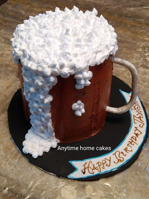 Glass of Beer Cake by Anytime Home Cakes