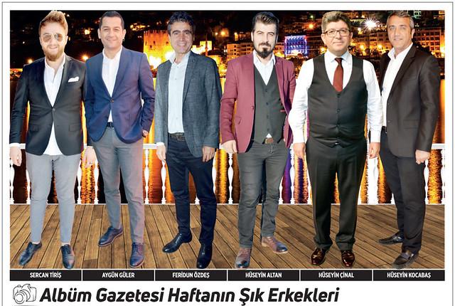 Sercan Tiriş, Aygün Güler, Feridun Özdeş, Hüseyin Altan, Hüseyin Çinal, Hüseyin Kocabaş
