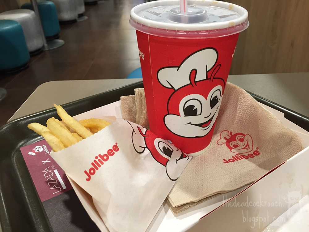 chicken joy, fast food, food, food review, fried chicken, jollibee, novena square, philippine, review, singapore,