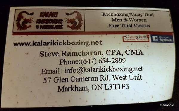 Kalari Kickboxing and Martial Arts