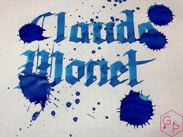 Ink Shot Review PenBBS Claude Monet @cohobbyist 7
