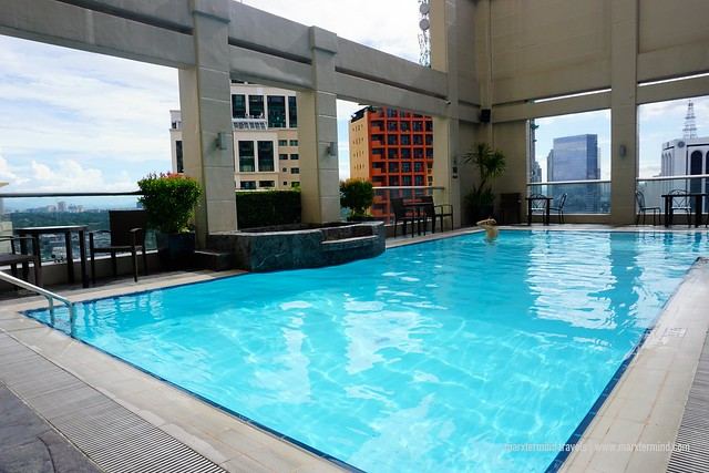 City Garden Hotel Makati Rooftop Pool
