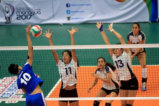 Voleibol femenino cierra con bronce en Juegos Centroamericanos