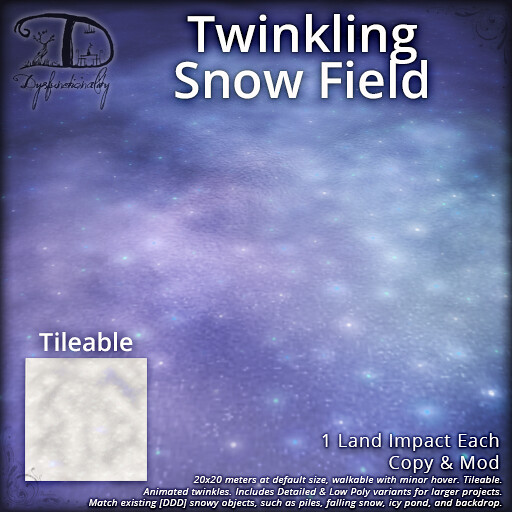 Twinkling Snow Fields