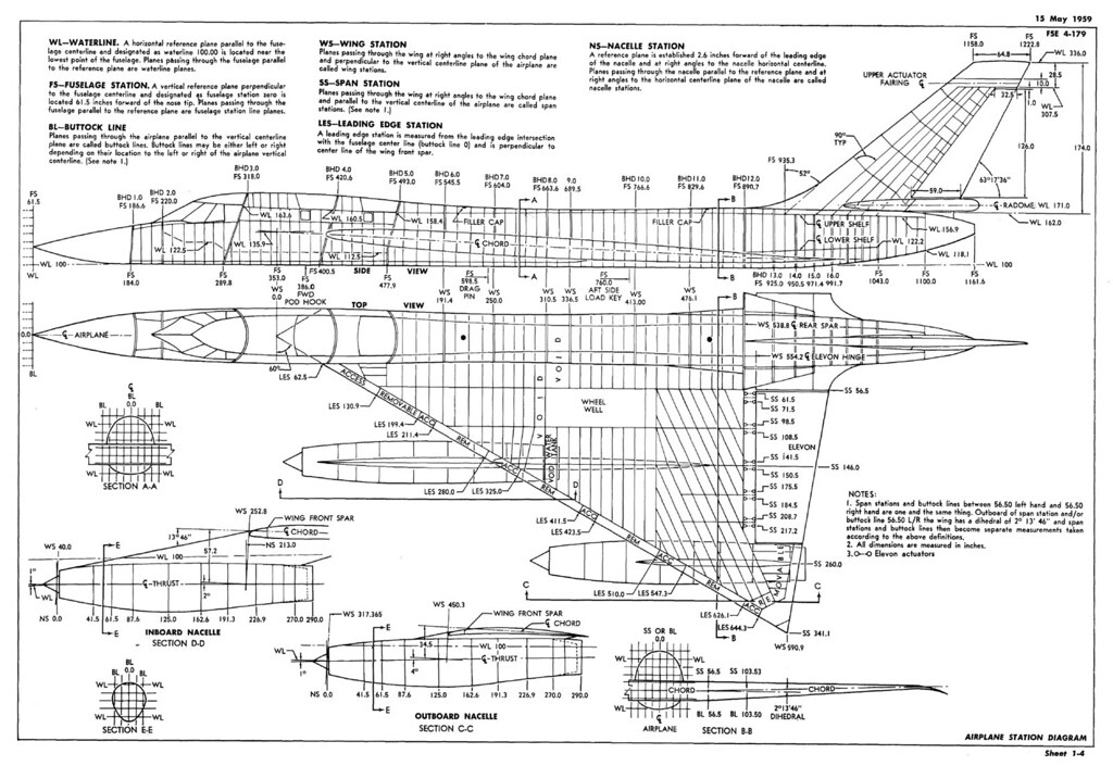 Re: Diionally Accurate B-58 in 1/72 Scale - HyperScale Forums