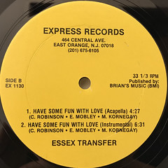ESSEX TRANSFER:HAVE SOME FUN WITH LOVE(LABEL SIDE-B)